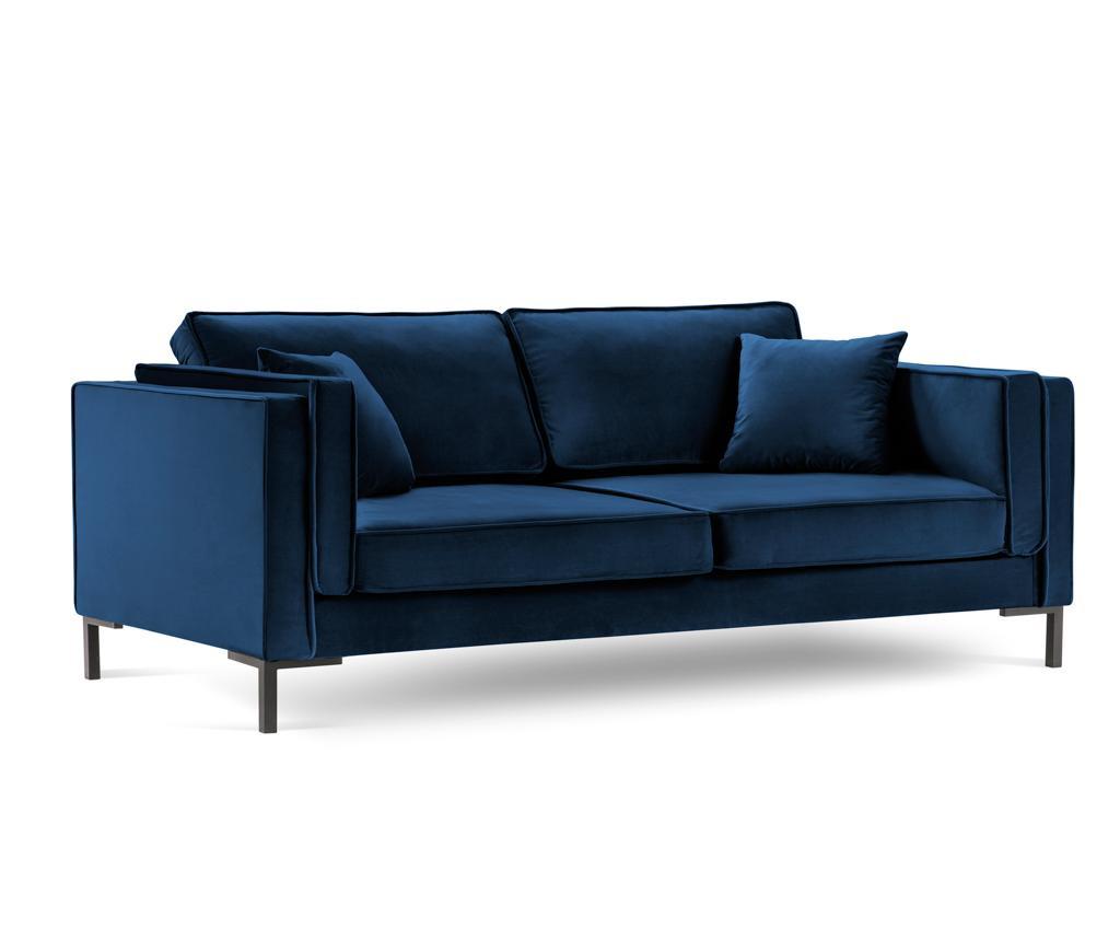 Luis Royal Blue Négyszemélyes szófa