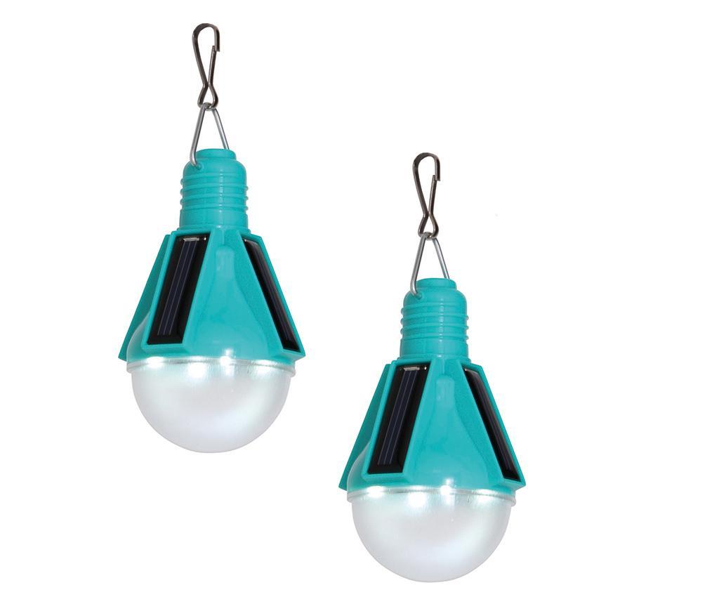 Set 2 stropnih solarnih svetilk Eddie