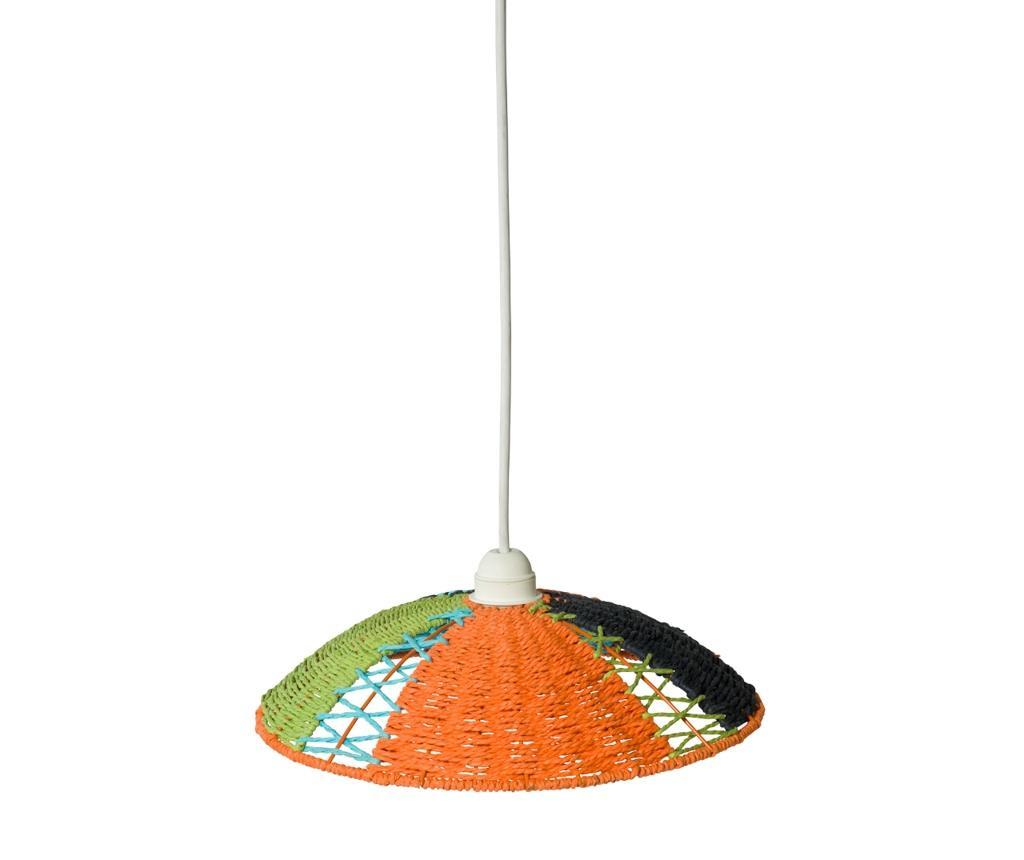 Senčilo za svetilko Adam Orange Green