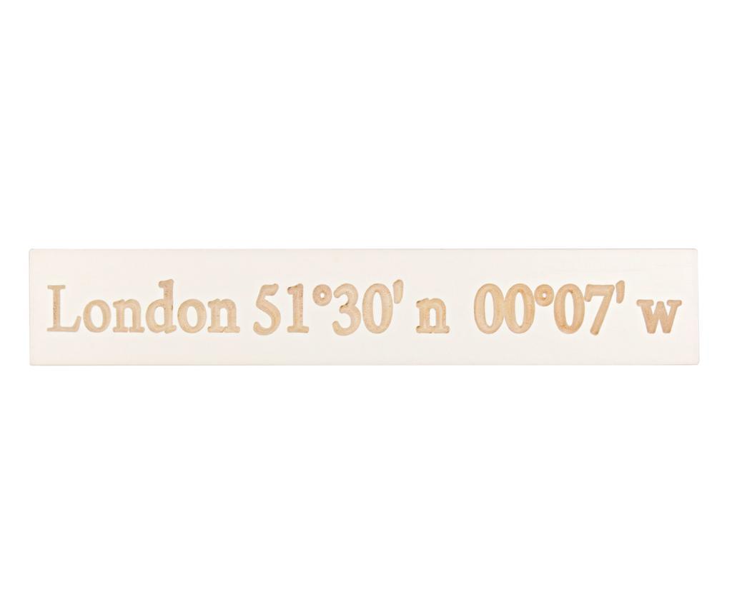 London Fali dekoráció