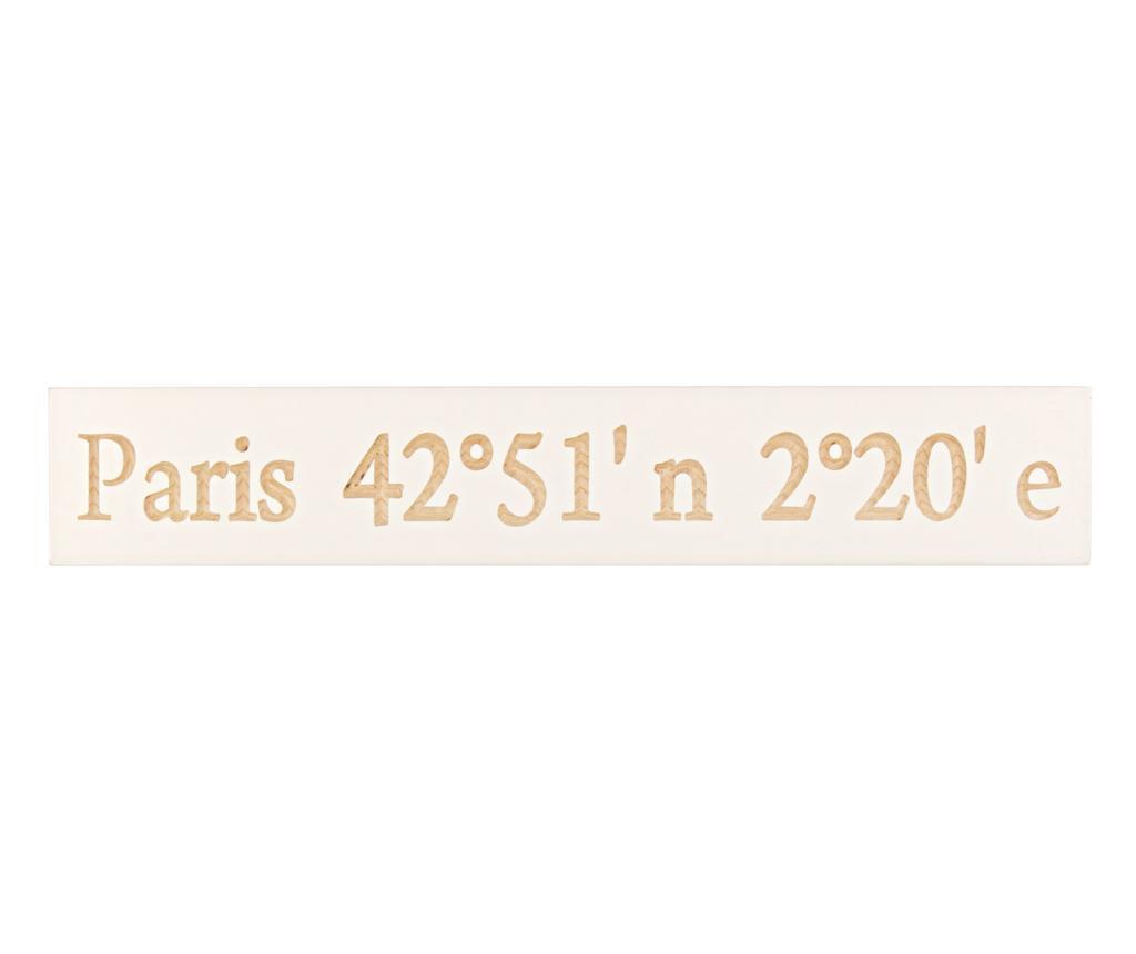 Nastěnná dekorace Paris