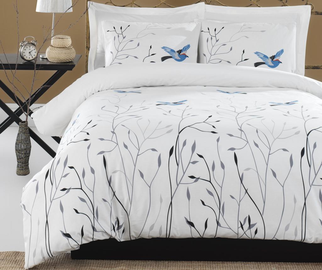 Sada posteľná bielizeň King Ranforce Fidella Blue