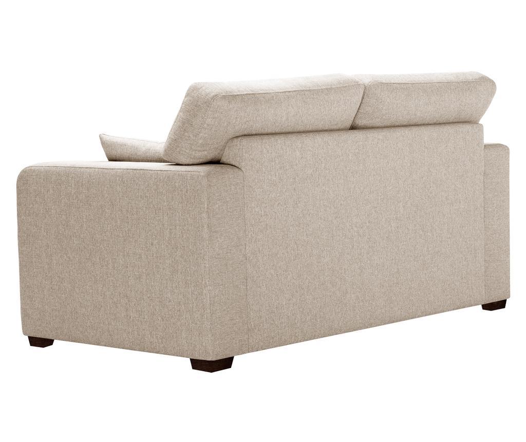 Canapea extensibila 2 locuri Melvin  Cream