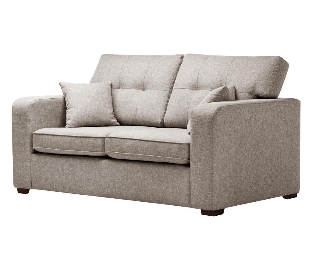 Melvin  Taupe Kétszemélyes kihúzható  kanapé