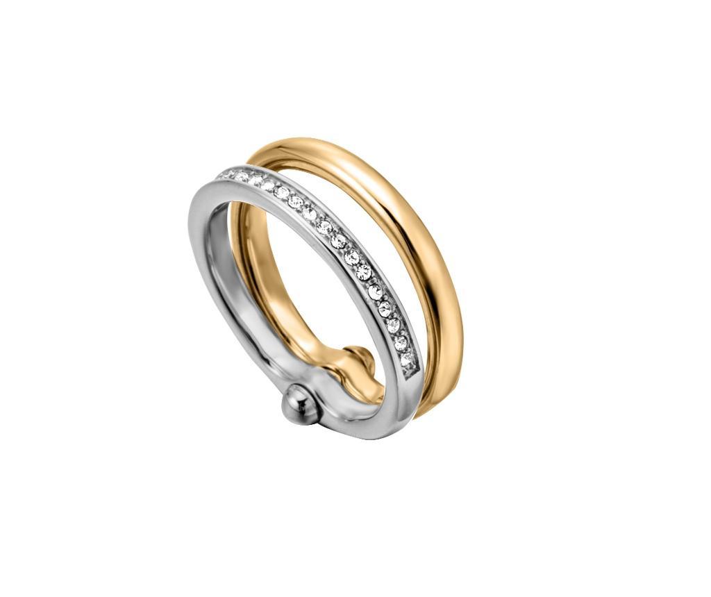Prstan Esprit Klaudia Silver & Gold Tone 18 mm