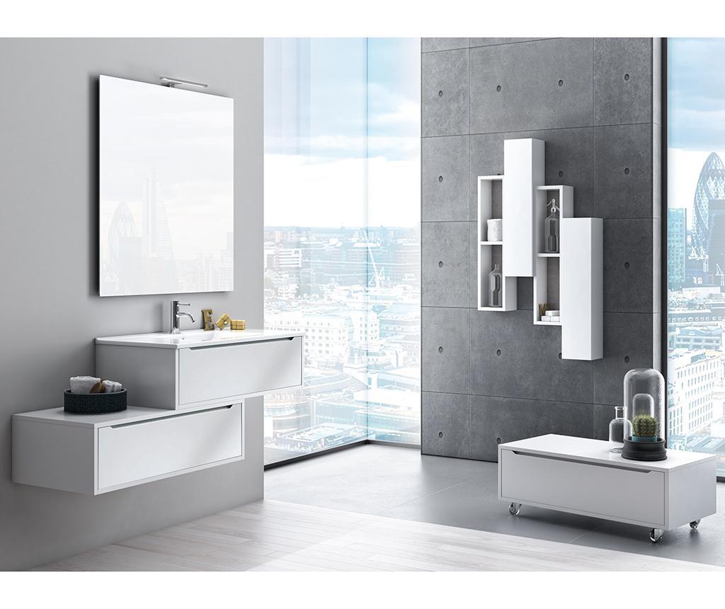Sada kúpeľňového nábytku 5 ks Belsk White