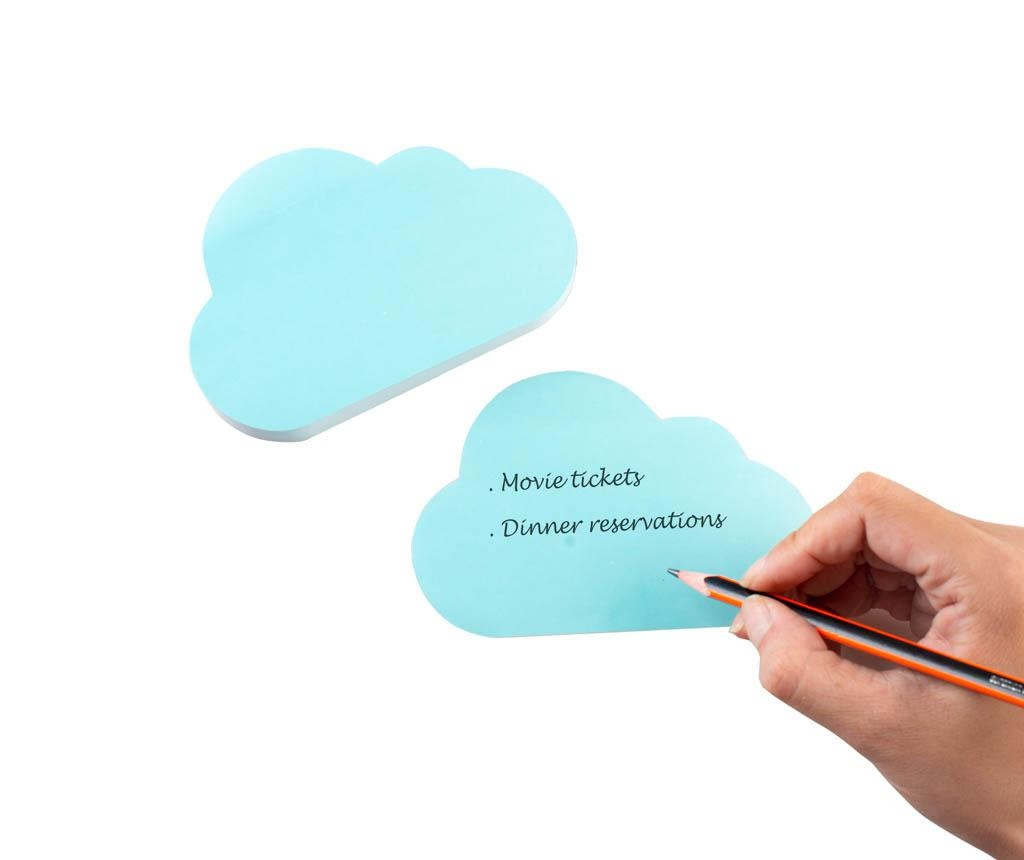 Cloud Notes Desk Accessory Íróasztali rendszerező