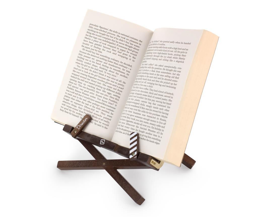 Suport de carti Director's Bookchair White Cloth