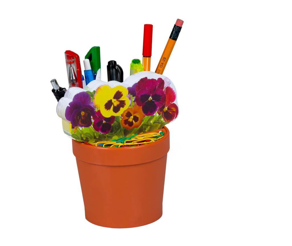 Suport pentru accesorii de birou Deskplant Flowers