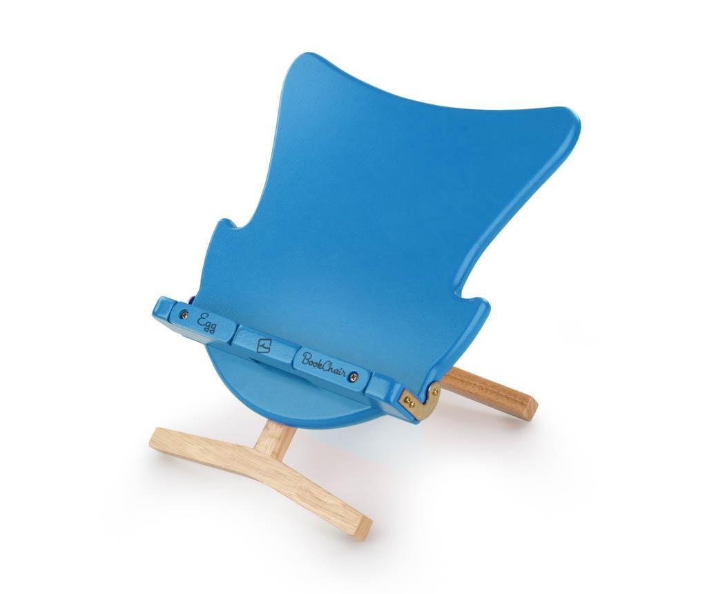 Suport de carti Egg Bookchair Blue