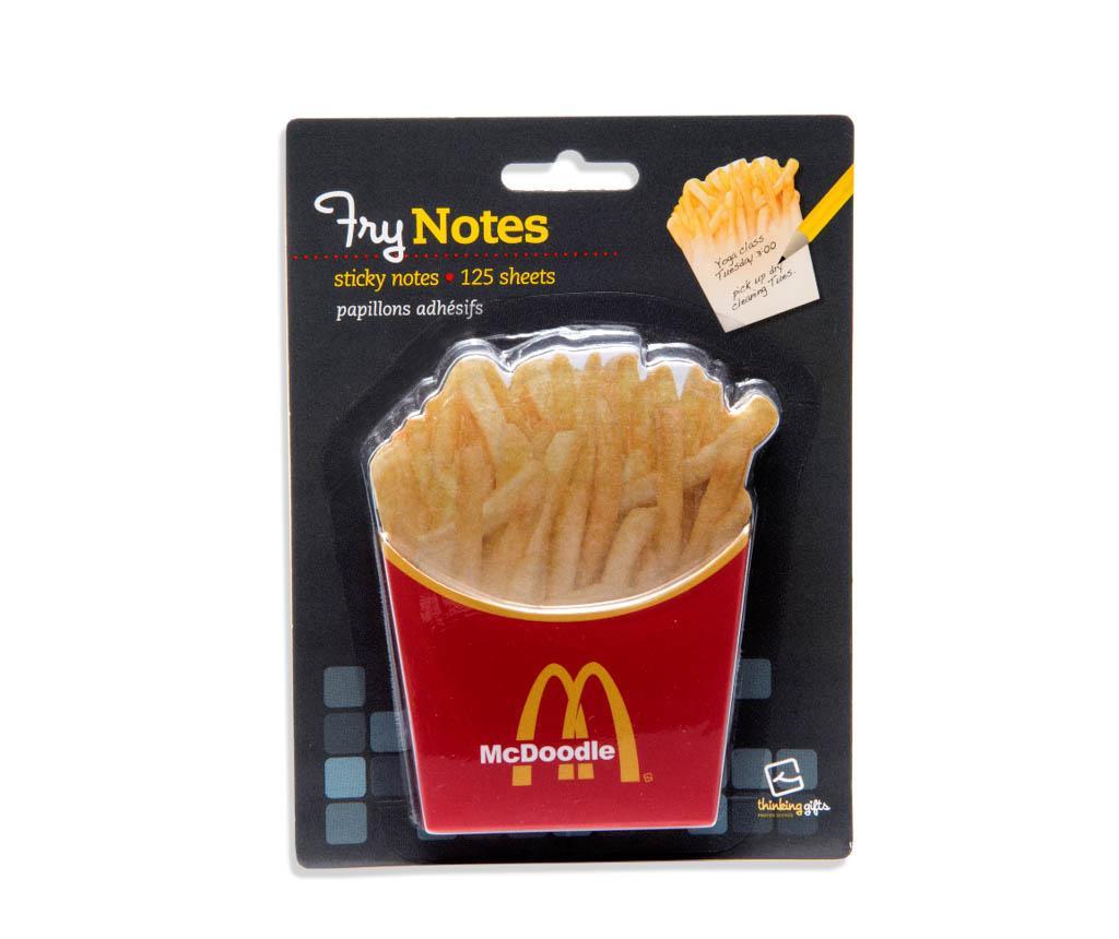 Fry Notes Öntapadó jegyzettömb