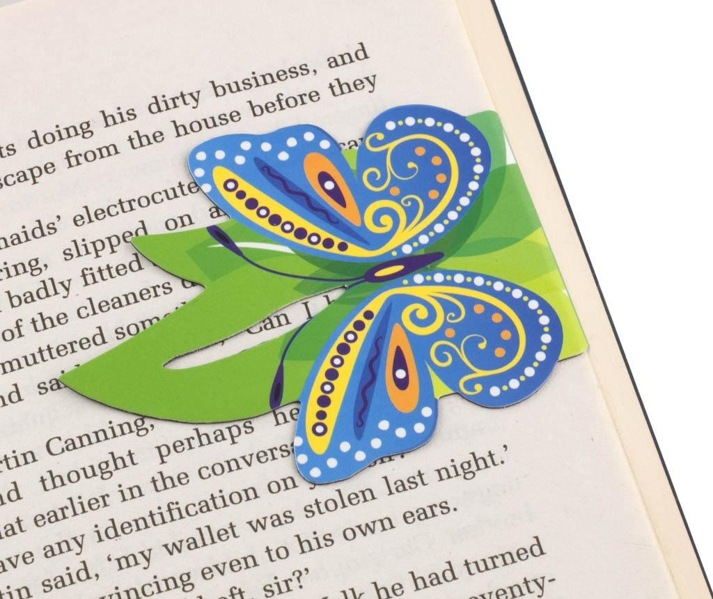 Linemarkers Butterflies 2 db Könyvjelző