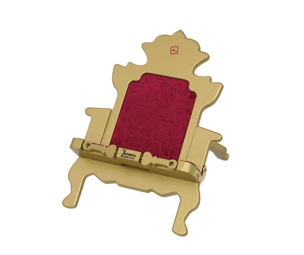 Suport de carti Throne Bookchair Gold