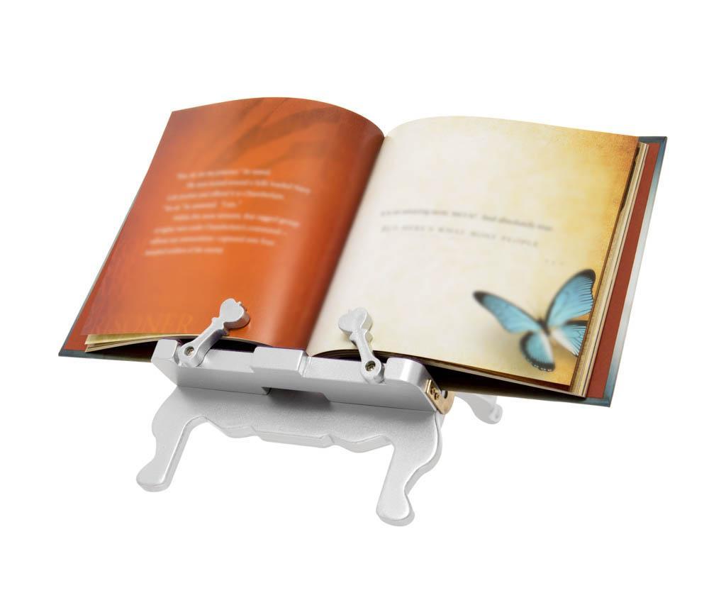 Throne Bookchair Silver Könyvtámasz