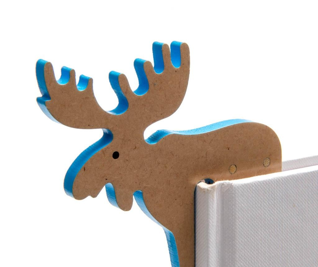 Semn de carte Woodland Animal Bookmark Moose