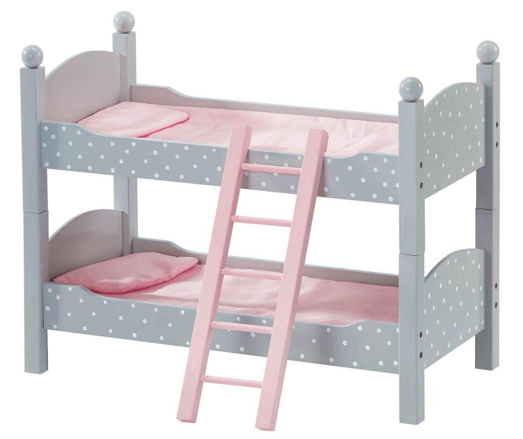 Krevet na kat za lutke Doll Double Bunk