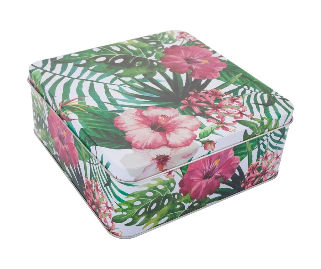 Dekorativna škatla Flamingo Tropic