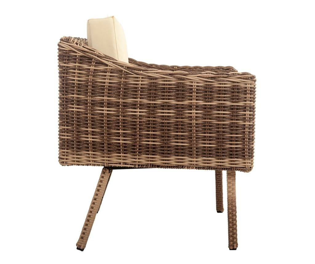 Set mobilier pentru exterior 4 piese Kerry