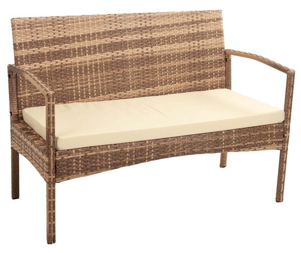 Canapea de exterior Ramy Light Brown