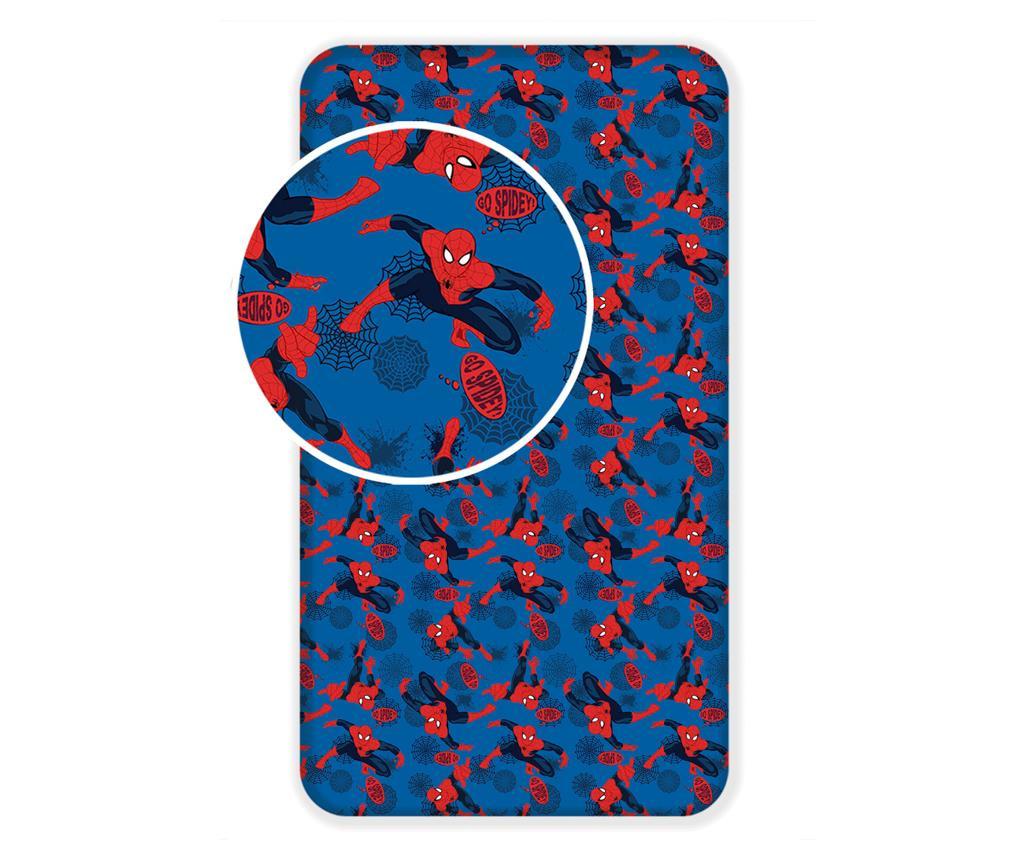 Plahta s elastičnom gumicom Spiderman 90x200