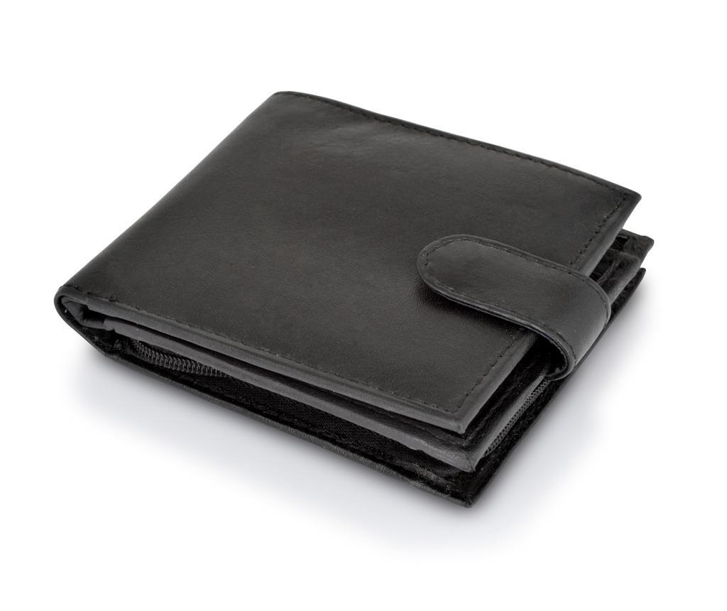 Woodland Fold Black Pénztárca