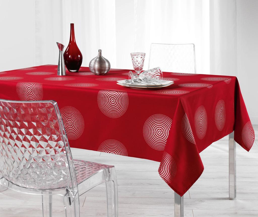 Atome Red Asztalterítő 150x300 cm
