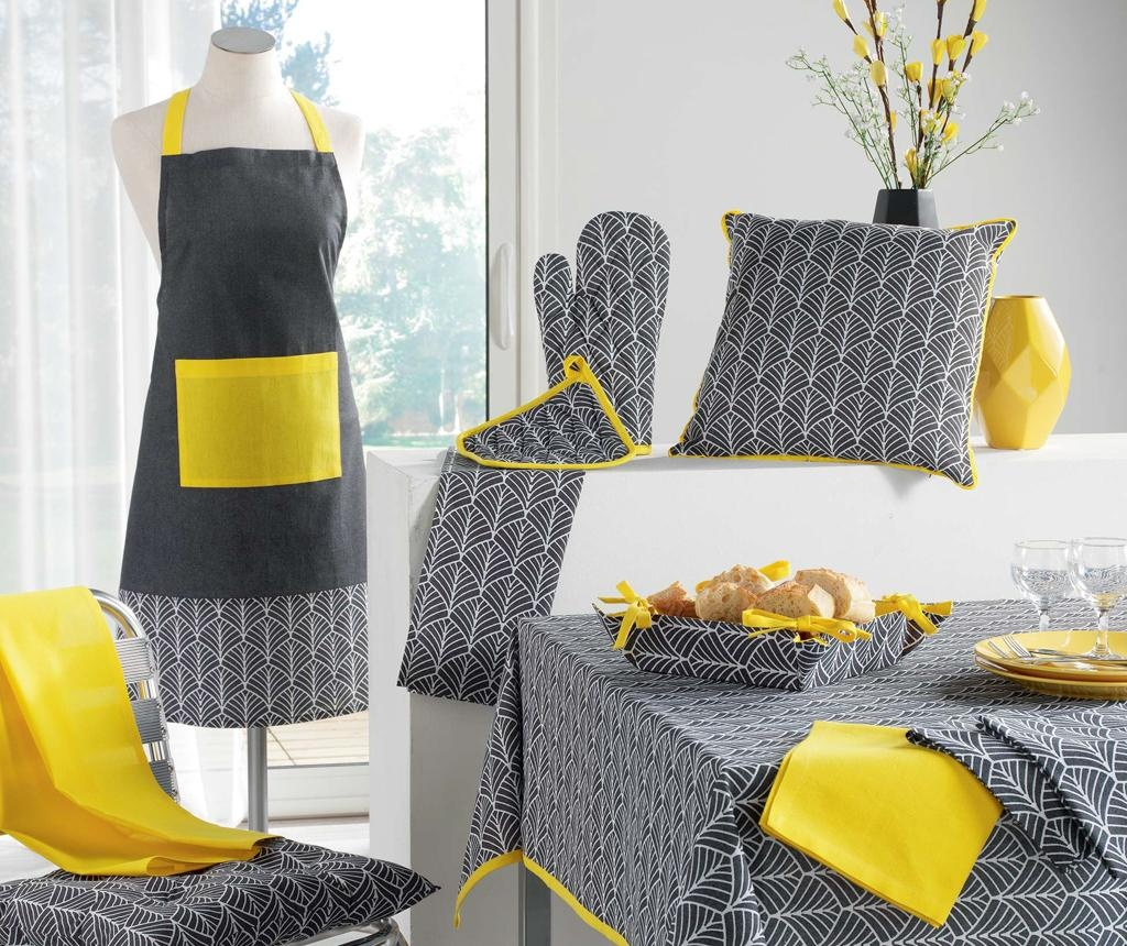 Jastuk za sjedalo Modern Style Yellow 40x40 cm