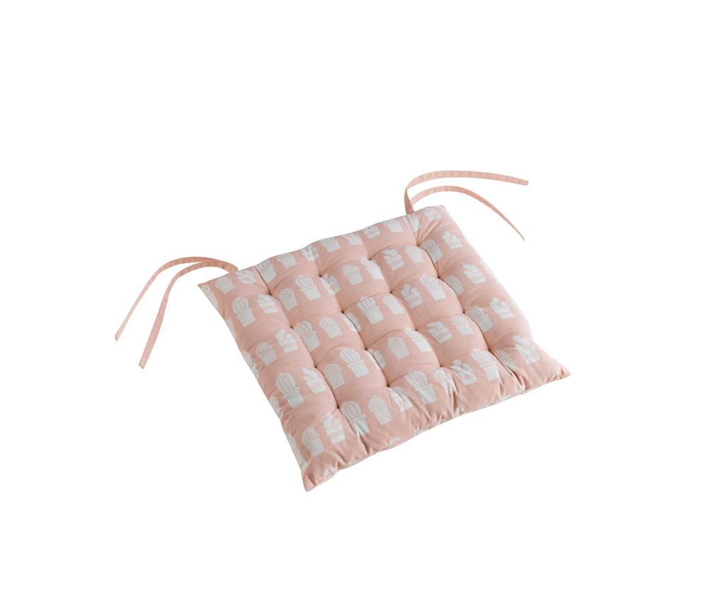 Jastuk za sjedalo Carlota Nude 40x40 cm
