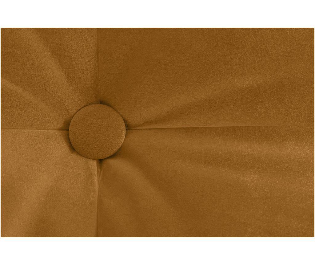 Canapea extensibila 3 locuri Aldo Mustard