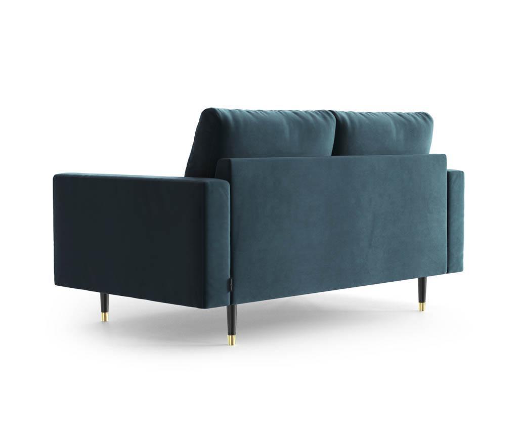 Canapea 2 locuri Aldo Turquoise
