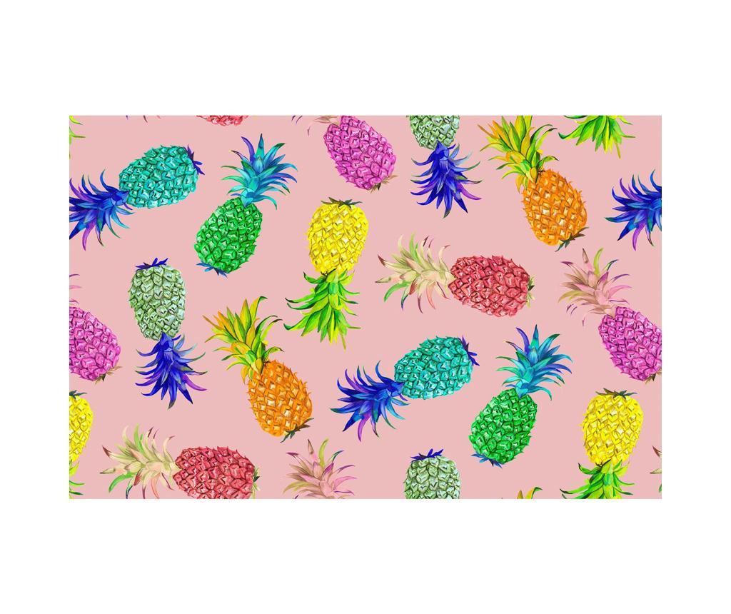 Folie Ananas Rose Tányéralátét 30x44 cm