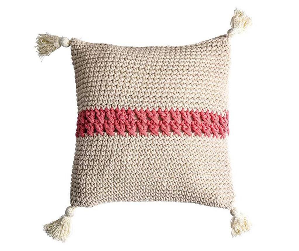 Fata de perna Stripe Pink 40x43 cm