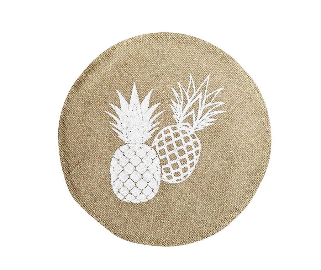 Suport farfurie Ananas Round Spirit 38 cm