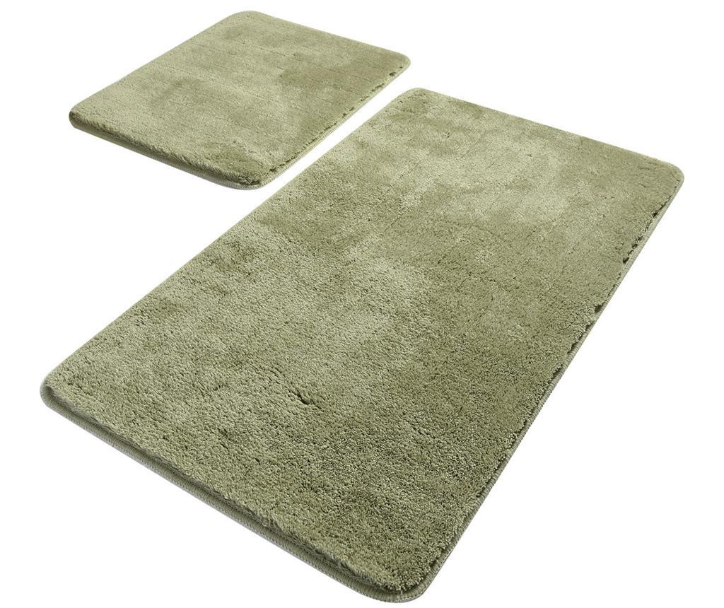 Huvai Dark Green 2 db Fürdőszobai kilépő