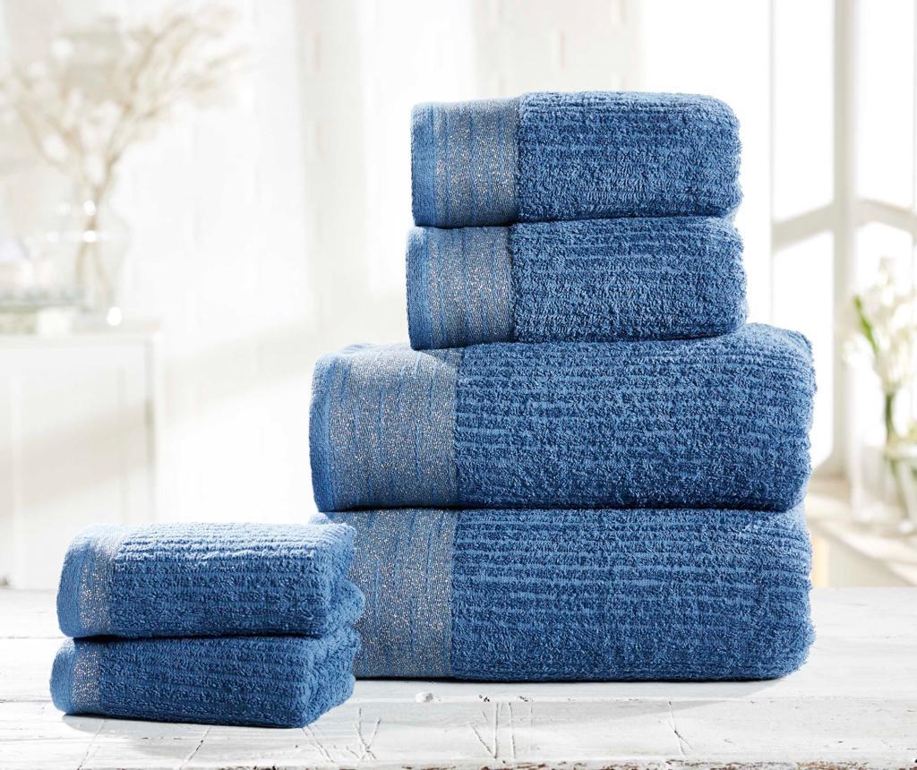 Set 6 kupaonska ručnika Mayfair Denim