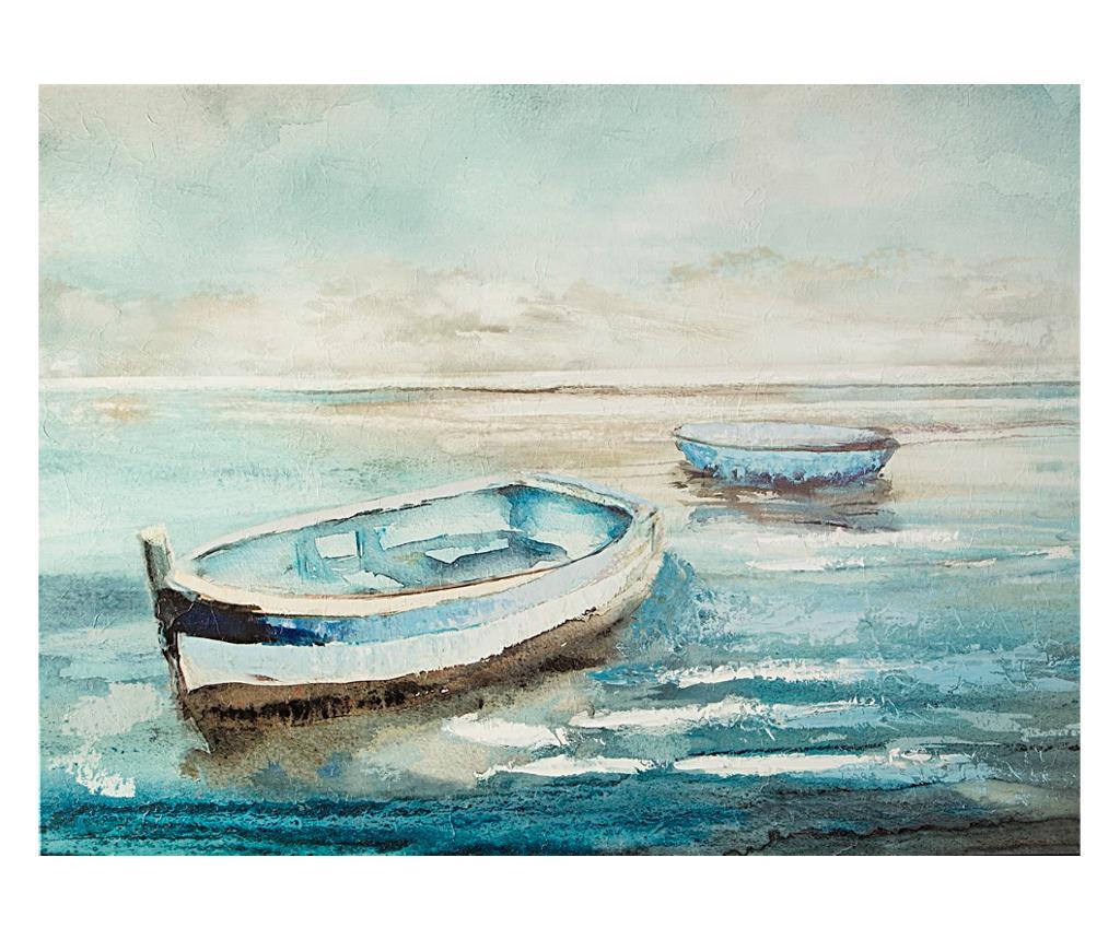 Tablou Sailing Boat 90x120 cm
