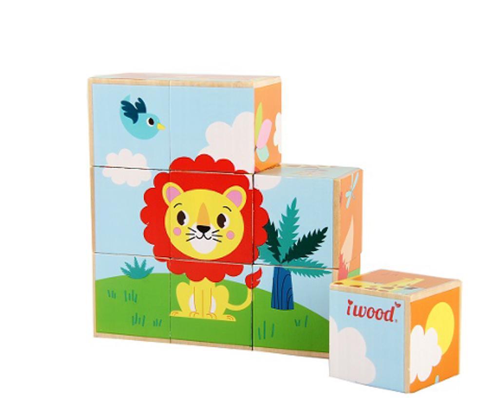 Joc tip puzzle 9 piese Forest Animals