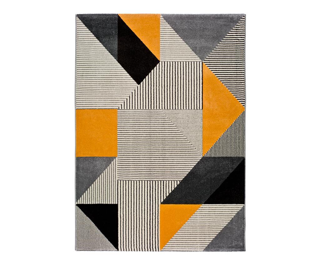 Gladys Grey & Silver Szőnyeg 60x120 cm