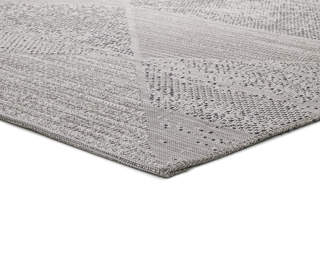 Macao Grey & Silver Szőnyeg 155x230 cm