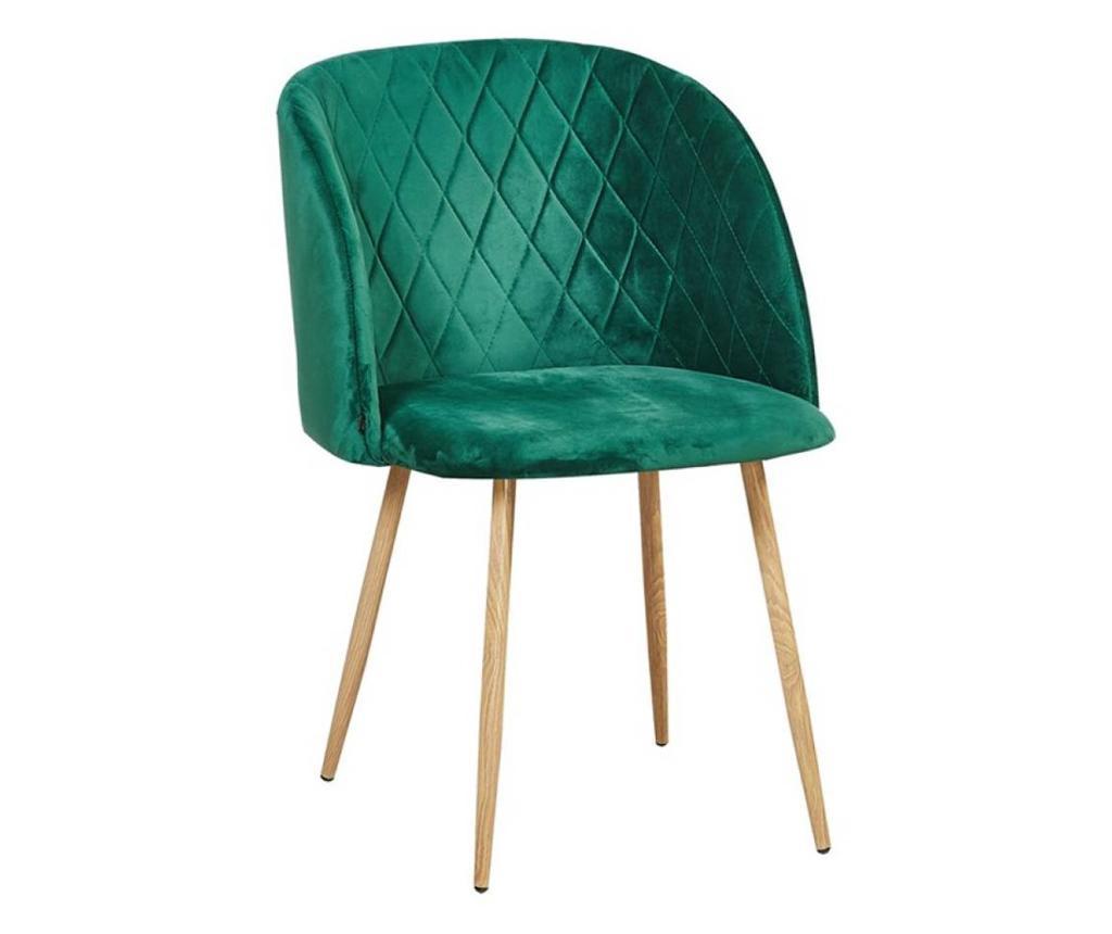 Stol Makro Green Velvet