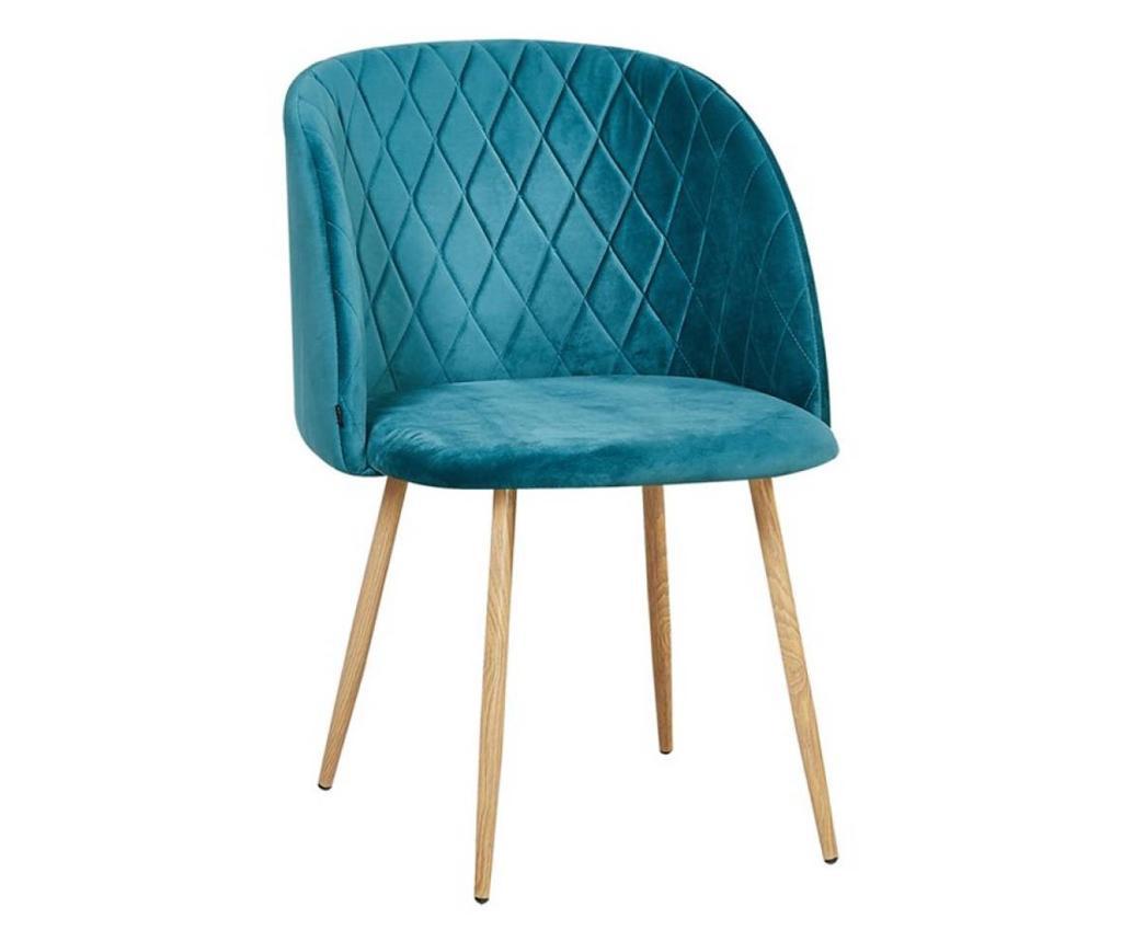 Stol Makro Blue Velvet