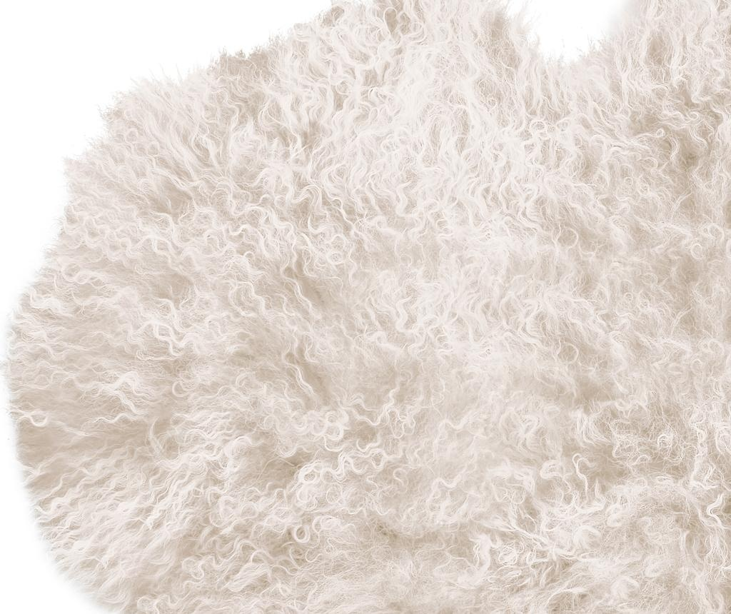 Dywan Fur Mood Black 50x90 cm