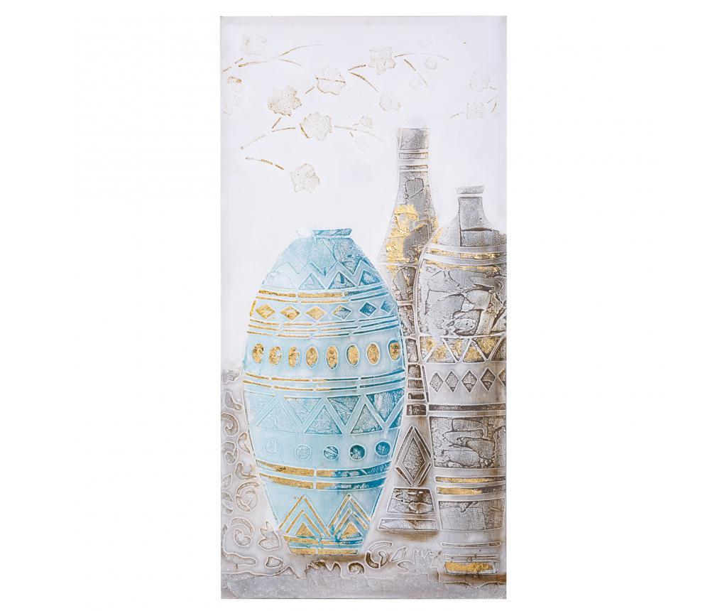 Πίνακας Vases 50x100 cm