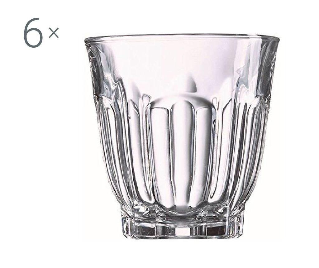 Sada 6 pohárov Arcade 240 ml