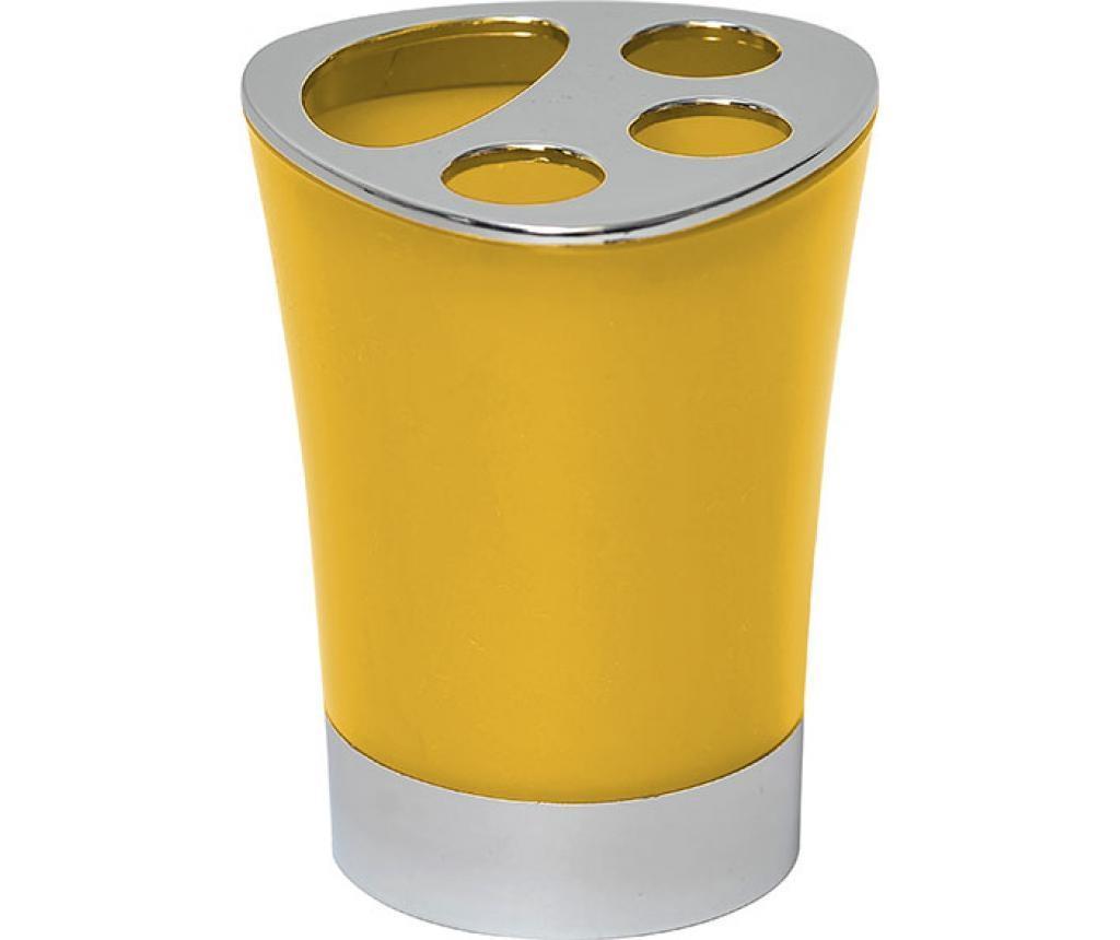 Suport pentru periute de dinti Peva Yellow