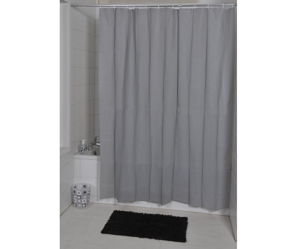 Zasłona prysznicowa Peva Grey 180x200 cm