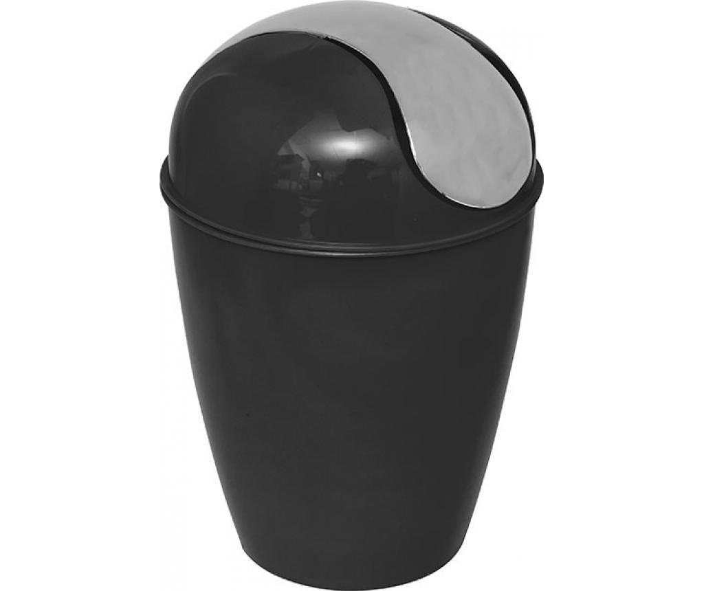 Cos de gunoi cu capac Peva Black