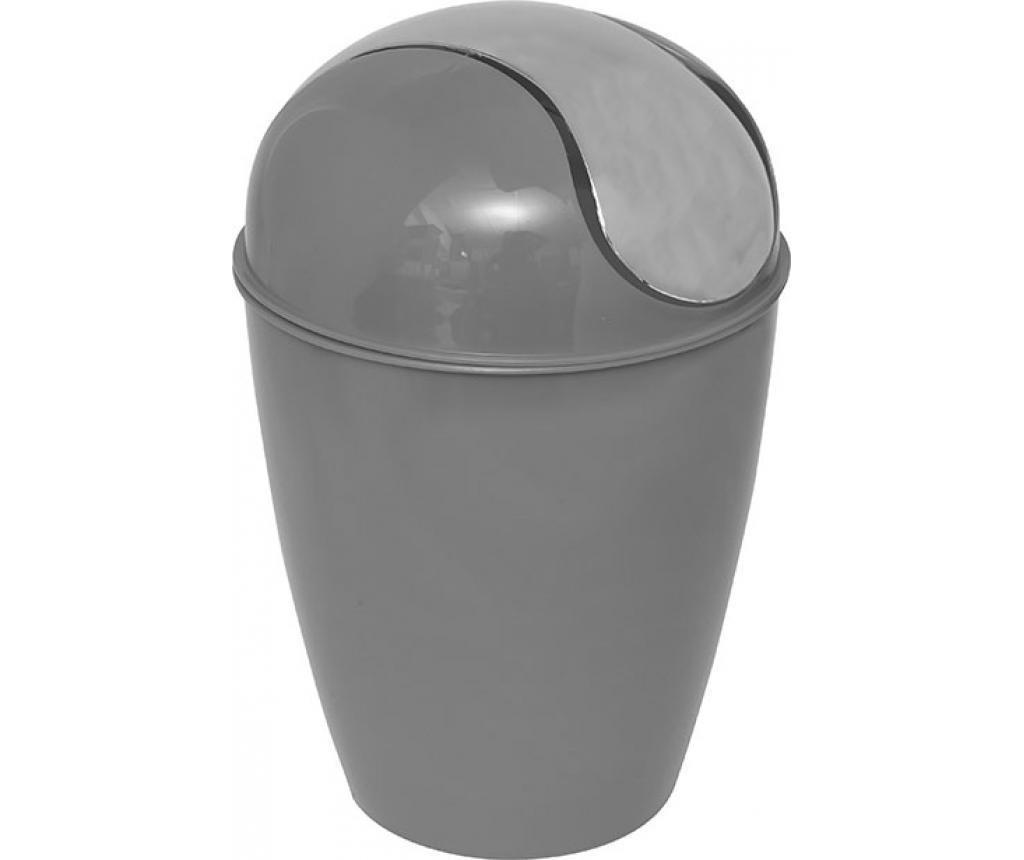 Cos de gunoi cu capac Peva Grey