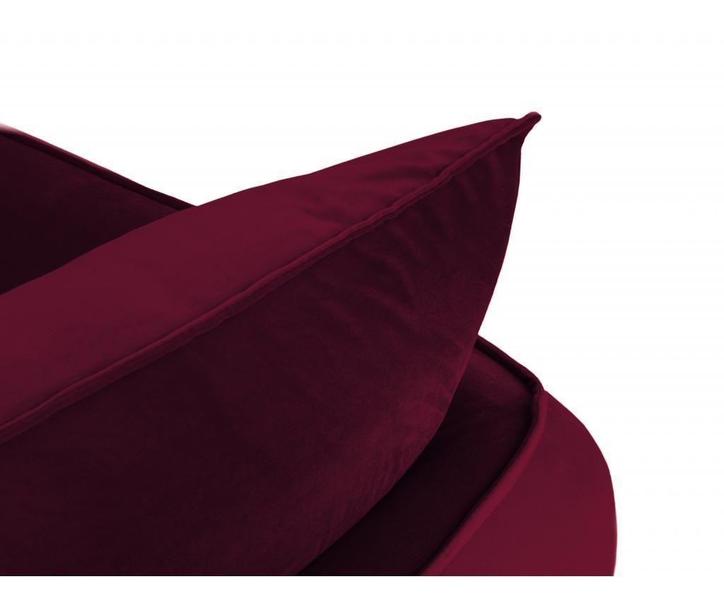 Canapea cu 4 locuri Verveine Red