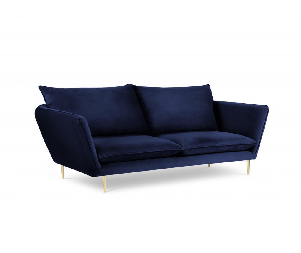Canapea cu 4 locuri Verveine Royal Blue